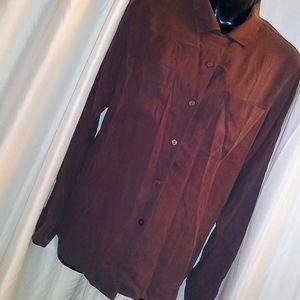 Vintage Laura Scott Silk Button Up Blouse